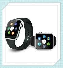 2015ใหม่S Mart W Atch A9นาฬิกาบลูทูธสมาร์ทสำหรับip honeแอปเปิ้ลและซัมซุงโทรศัพท์A Ndroid relógio inteligente r elojนาฬิกามาร์ทโฟน