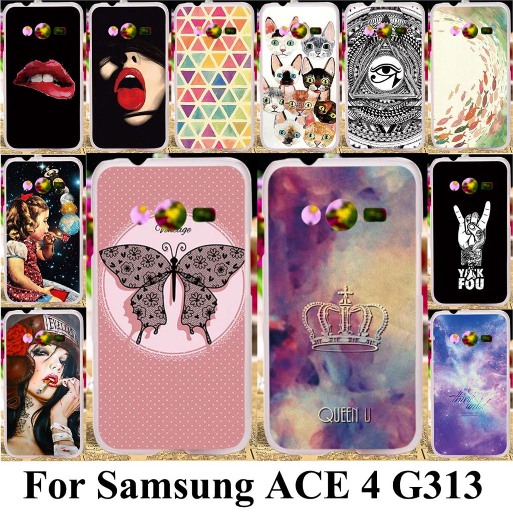 H Goods Phone Case For Coque Samsung Galaxy Ace 4 Lite G313 G313h Sm Cassing Casing Housing V Fullset Taoyunxi Silicone Plastic Cover Nxt G318h Trend 2
