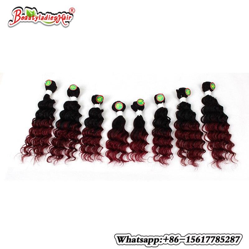 8pcs / παρτίδα 100% ανθρώπινο βελονάκι - Συνθετικά μαλλιά - Φωτογραφία 4