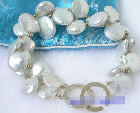 LIVRAISON GRATUITE >>>@@> 09761 papillon blanc coin FW perles bracelets