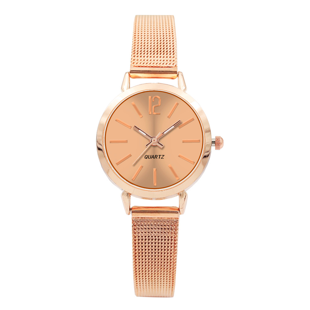 2018 Womens Fashion Classic Quartz Stainless Steel Wrist Watch Women Fashion Luxury Watch Ladiesbayan Kol Saati Women Watches