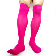 Over Knee Mens Softy Socks Thin Sexy Gay Male Stocking Business Formal Dress Suit Hose Brand New Fashion