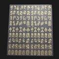 108 UNIDS 3D Diseño de La Flor DIY Pegatinas de Uñas de Arte Manicura Flor Consejos Decals Stickers
