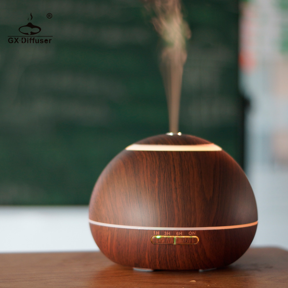 Gx diffuser 300ml home appliances led essential oil for Essential appliances for a new home