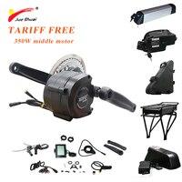 JS Ebike 350W Electric Bike Conversion Kit 36V 48V Middle Motor Torque Electric Motor Bicicleta Electrica Elektrikli Bisiklet CE