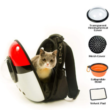 2019 New Space Capsule Pet Carrier Backpack Waterproof for Cat Small Dog YU-Home