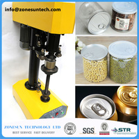 PET Seamer Tinplate Cans Plastic Cans Food Cans Sealing Machine Capping Machine