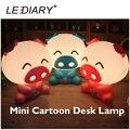 LEDIARY Cerdo Reemplazable E14 Fuente de Luz Lámpara de Escritorio Luz de Noche Rojo/Rosa/Zafiro/Bebé 110-240 V Lámpara de noche
