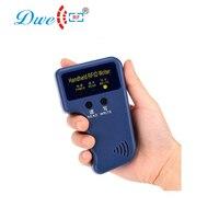 DWECC RF RFID נייד 125 KHz EM4100 מזהה כרטיס מעתיק מעתק