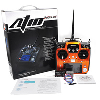 RadioLink AT10 RC Transmitter 2.4G 10CH Remote Control System with R10D Receiver for RC Airplane Helicopter