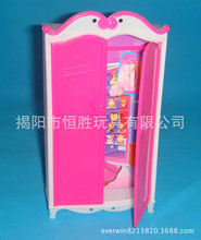 The toy closet, for Barbie doll  wardrobe furniture fittings DIY educational toys play house  wardrobe