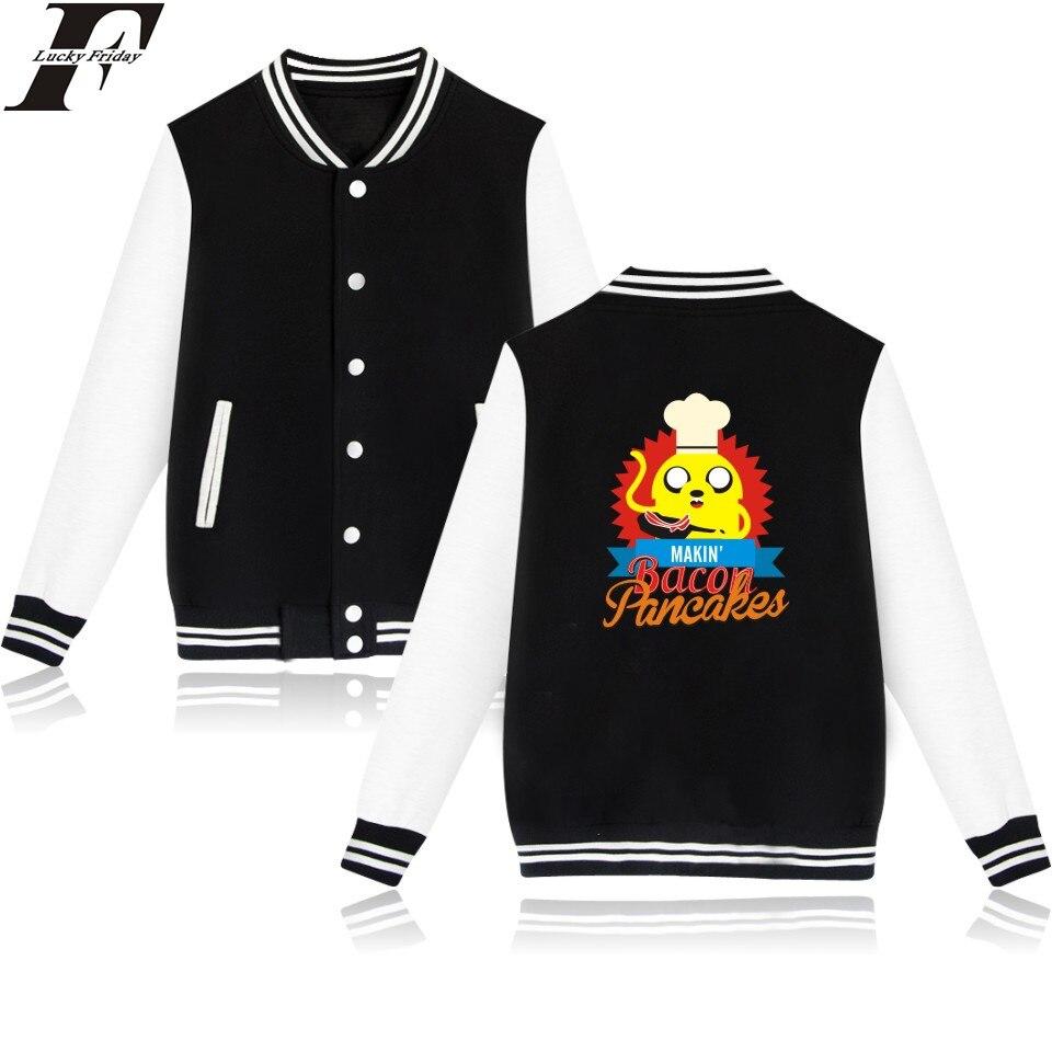 Luckyfridayf 4 вида цветов женские/мужские Время приключений бейсбольная куртка время приключений женский пиджак для женщин время приключений па...