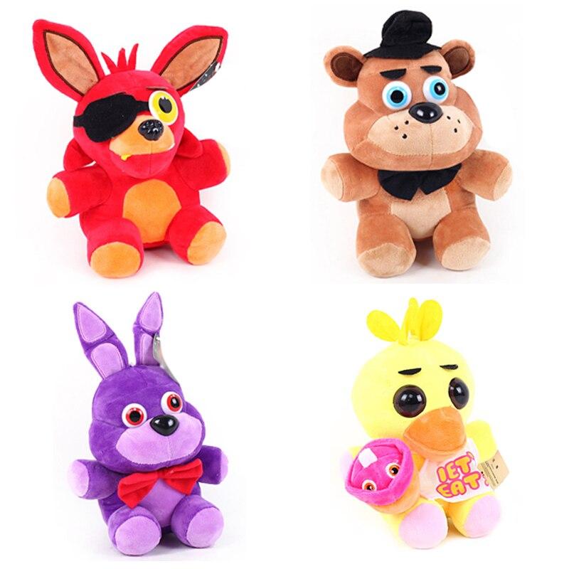 FNAF Bear Foxy Stuffed Toys Cartoon Movie 15cm Five Nights At Freddy Plush Doll Five Nig ...