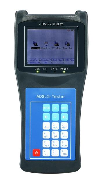 Rui Yan RY2100 ADSL2 + Tester Testador Pode Medir o Tráfego de Banda Larga ADSL Com Função DMM