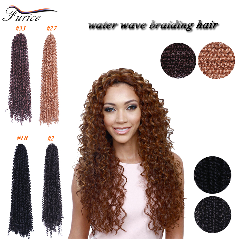 Kinky twist hair styles 18 inch black freetress water wave crochet kinky twist hair styles 18 inch black freetress water wave crochet hair extensions curly marlybob crotchet synthetic curly weave on aliexpress alibaba pmusecretfo Images