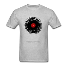 Fashion Geek Tee Skateboard Spinning With A Vinyl Record – Retro Music DJ Men's T Shirts Short Sleeve T-Shirts Cotton T Shirts