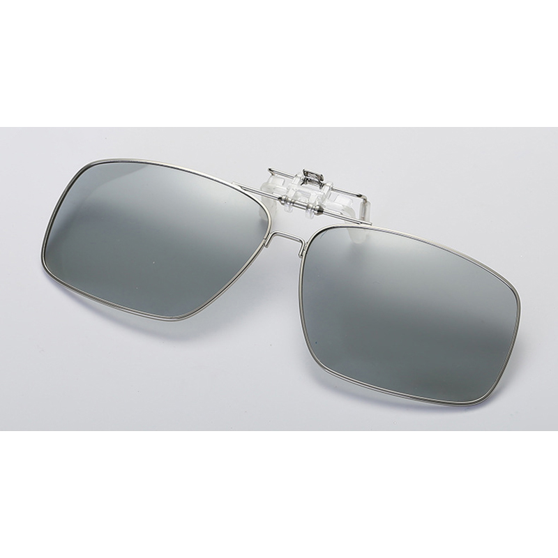 Intelligent Photochromic Clip On Polarized Pilot