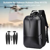 Backpack for Hubsan Zino4K H117S Drone Waterproof Tote Box Hard Shell Storage Bag