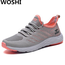 ФОТО summer running breathable sports shoes for women outdoor comfortable lightweight women shoes sports sneakers women krasovki 3