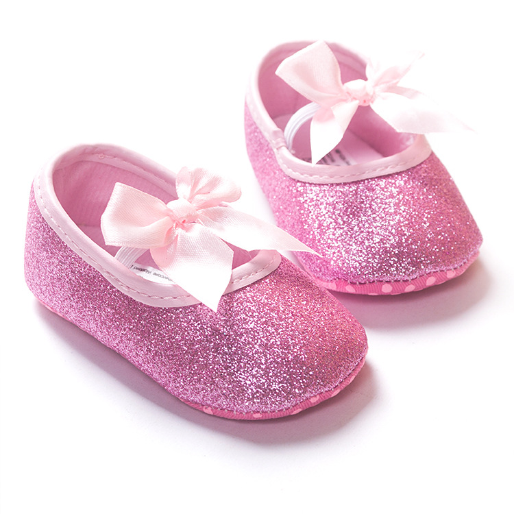 Fashion baby girl shoes Hot sale girl first walkers Bling baby girl shoes  for 0 12 month baby Gold Pink Silver hot pink colors-in First Walkers from  Mother ... 3f92454b64ef