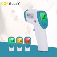 Baby Care Digital Infrared Thermometer Electronic Infrared Body Thermometer LCD Backlight Non Contact Measurement Forehead Tool