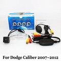 Cámaras De Seguridad del vehículo Para Dodge Caliber 2007 ~ 2012/RCA Cable O inalámbrico/HD Gran Angular de Lente de Visión Nocturna del CCD de Visión Trasera cámara