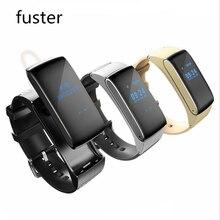 MTK626M Фитнес умный браслет с микрофоном гарнитура Bluetooth Напульсники для Android 4.0 смартфон