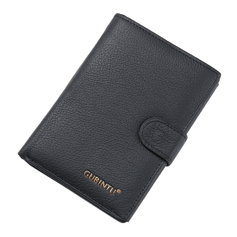 Men's Bags Wallets Amiable Gubintu Cortex Men Buckle Wallets With Coin Pocket Famous Brand Men Wallet