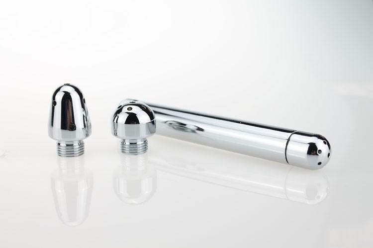 2016 New Stainless Steel Anal Dilator Expand Anal Vagina Enema Adult Man Woman Masturbation Toy Erotic Product New Fashion2