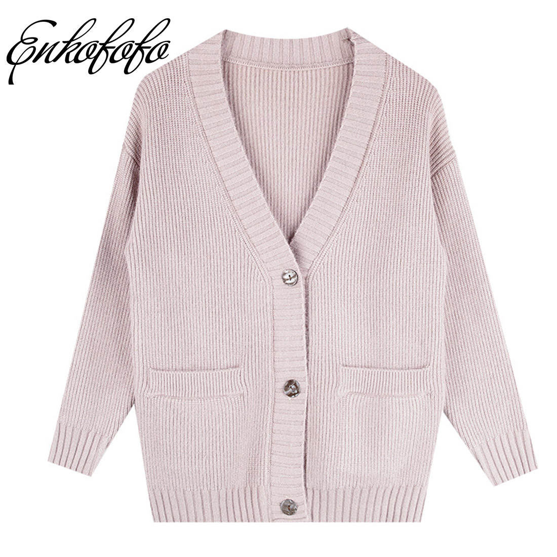2018 New Spring Women Cardigans Winter Single Breasted Poncho Knitting Sweater Cardigans ...