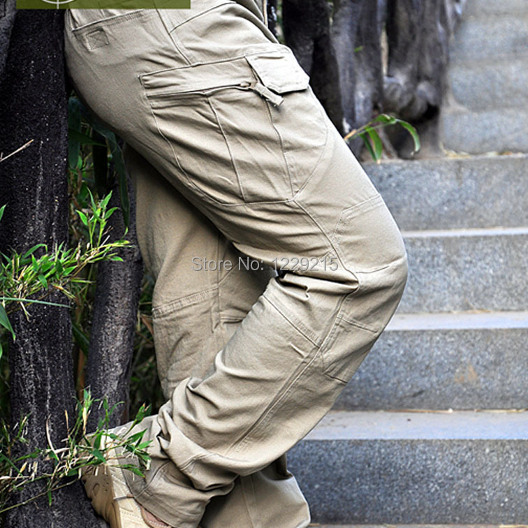ROCOTACTICAL Male Military Cargo Pants City Urban Tactical Pants Multi-pockets Breathable Camping Hiking Pants BDU Swat rocotactical male military cargo pants city urban tactical pants multi pockets breathable camping hiking pants bdu swat