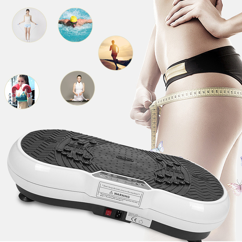 Upgraded version of the mini ultra-thin vibration fitness massager health fitness vibration aerobics exercise power board HWC vibration of orthotropic rectangular plate