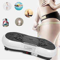 Upgraded version of the mini ultra thin vibration fitness massager health fitness vibration aerobics exercise power board HWC