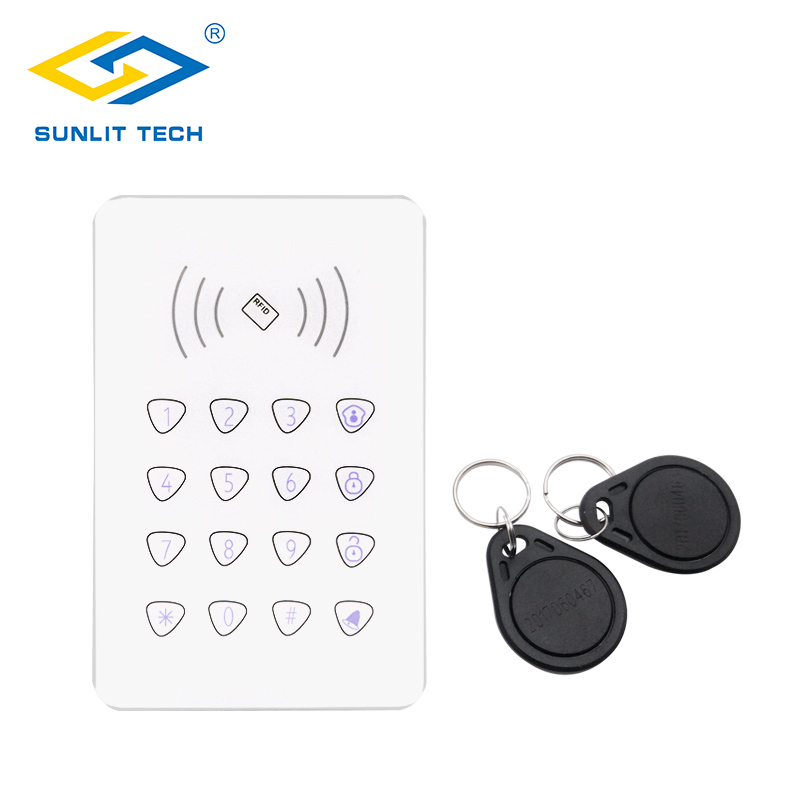 Wireless Touch Keypad K07 for G90B Plus S2G Home Security WIFI GSM Alarm System RFID Card Disarm Wireless Password Keyboard