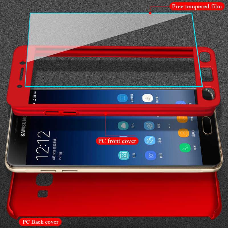 Thời trang 360 Chống Sốc Full Cover Dành Cho Samsung Galaxy Samsung Galaxy A3 A5 J1 J3 J5 J7 J2 Prime 2016 2017 A7 A6 a8 J4 J6 Plus 2018 Ốp Lưng Điện Thoại