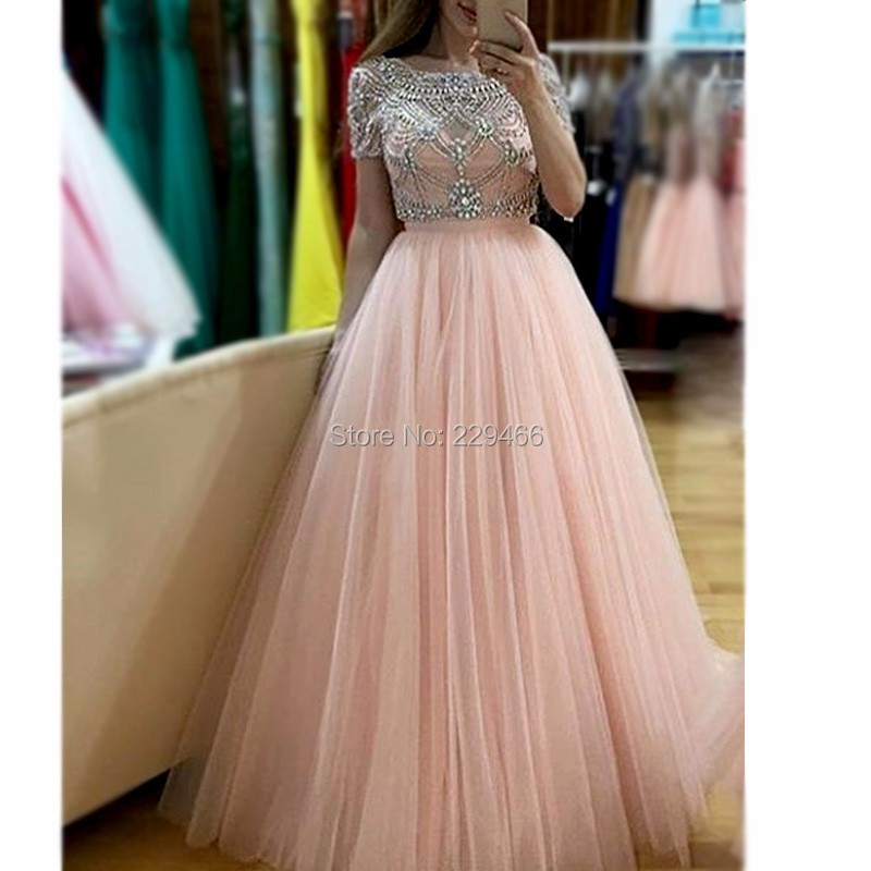 Real-Photos-Ivory-Color-Crystal-Short-Sleeves-Ball-Gown-Formal-Long-Prom-Dress-Evening-Party-OL102911 (1)