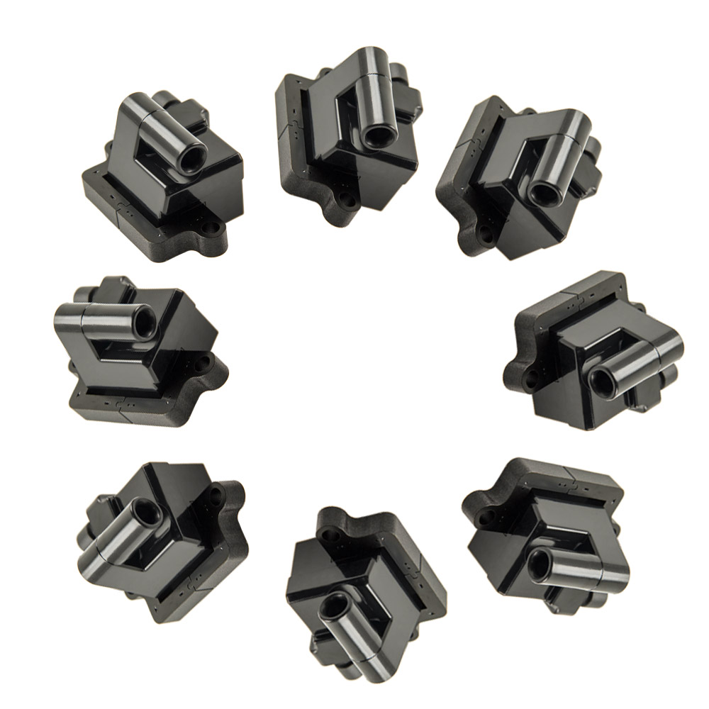 8 Ignition Coil Packs For Chevy Tahoe Hummer H2 For GMC Yukon Cadillac C1208, UF271, 12573190, D581 rastar 28500 hummer h2 page 8