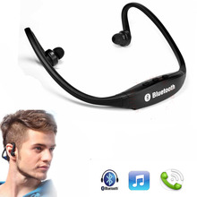 Wireless Neckband Style Earphone Sport Bluetooth In-Ear Headphone Stereo Headest With Mic For iPhone Samsung HTC LG Sony Earbuds