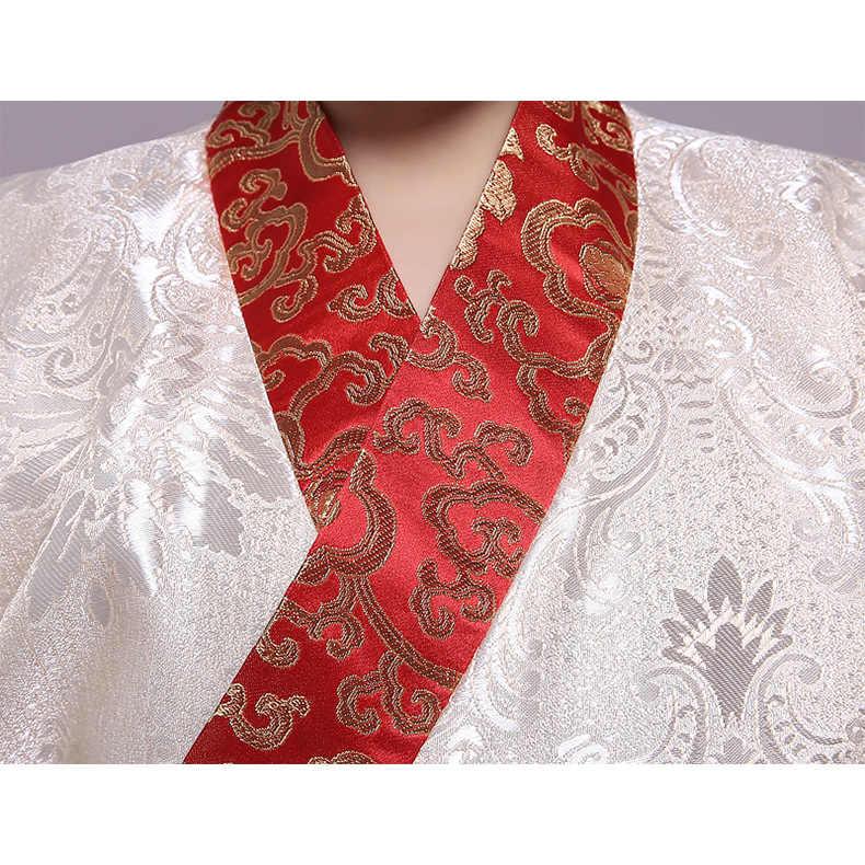Длинное платье для мальчиков, одежда для сцены, Китайская традиционная одежда для студентов, детский аньчан, костюм, детская Династия Тан, косплей Халат
