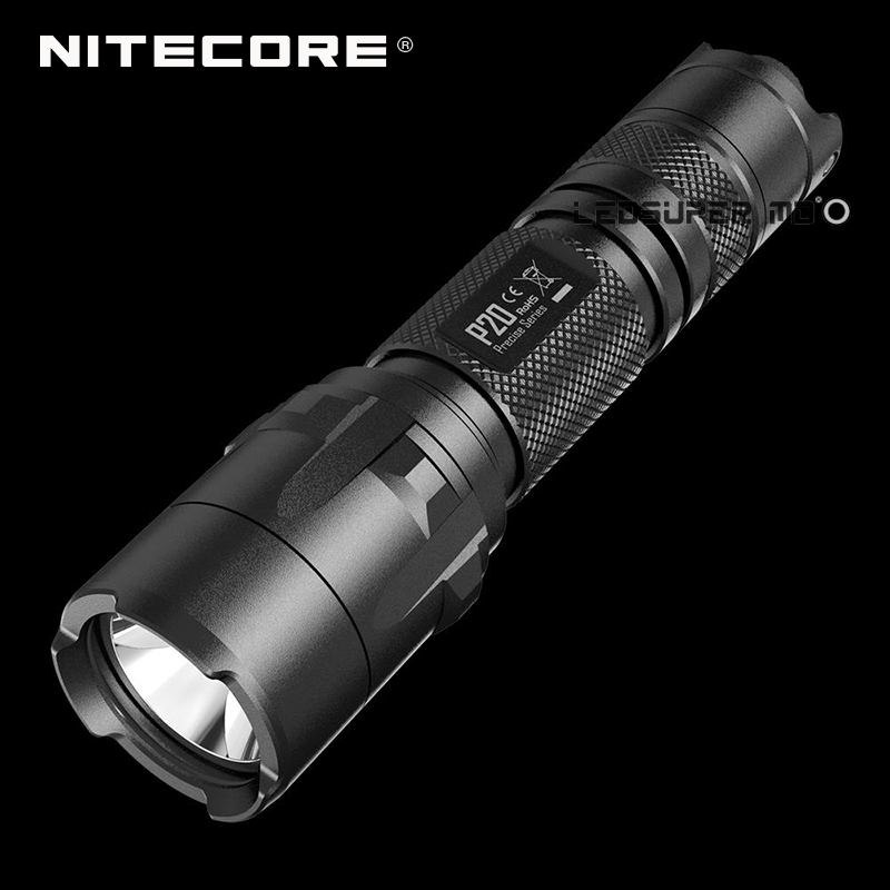 Original Nitecore P20 Precise Series CREE XM L2 T6 LED 800 Lumens Torch 18650 Tactical Flashlight