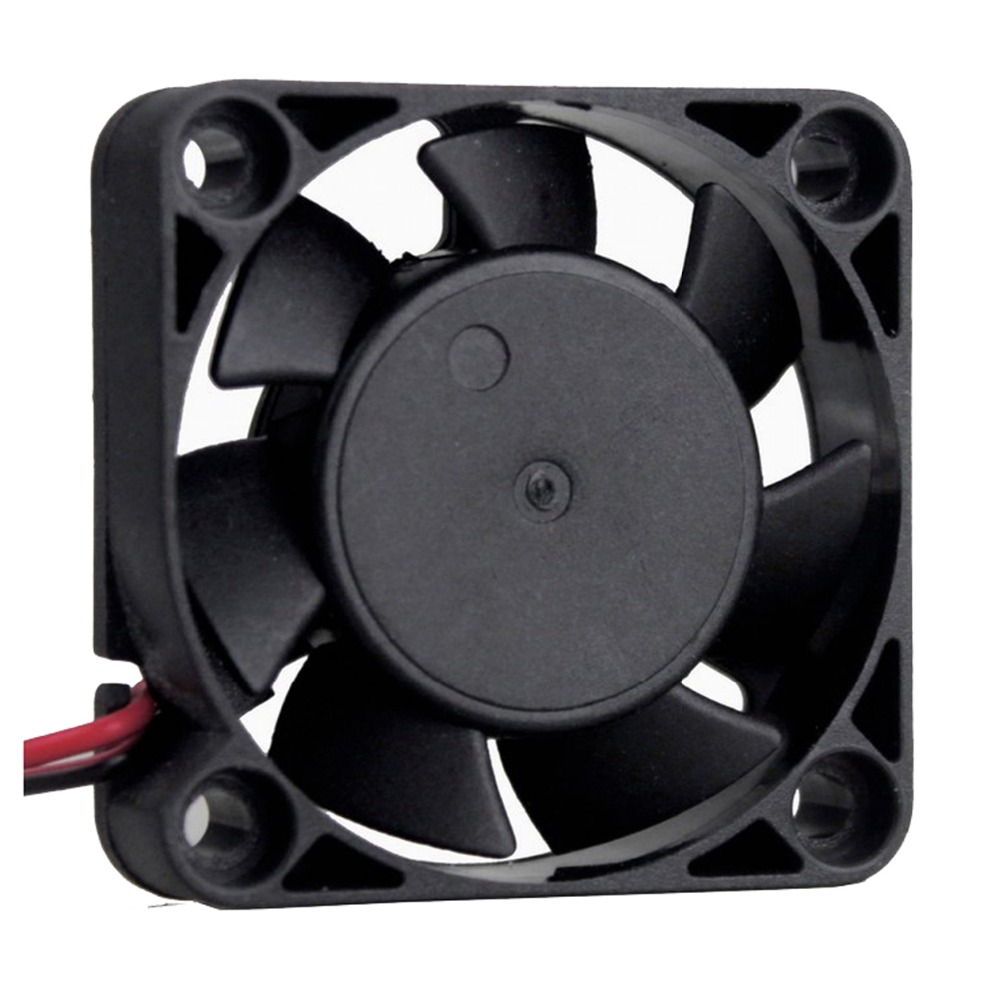 Image 4 - 2Pcs Gdstime DC 24V 12V 5V 40mm x 40mm x 10mm 2 Pin Ball Bearing Computer PC Case Cooling Fan 4010-in Fans & Cooling from Computer & Office