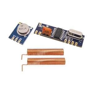 Image 1 - Комплект беспроводного модуля 5 компл./лот 315 мгц 433 мгц 100 м (передатчик ASK STX882 + приемник ASK SRX882)+ пружинные антенны