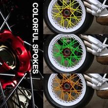 Motocross Dirt Bike Enduro Off road Wheel RIM SPOKE Shrouds SKINS FOR KAWASAKI Z800 KTM 990 ADVENTURE 300 450 530 exc 250 SX-F