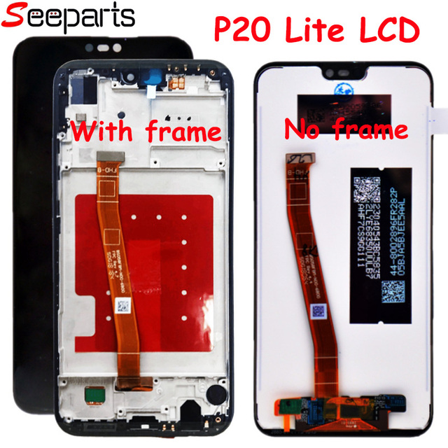 """5.84""""For Huawei P20 Lite LCD Display Touch Screen Digitizer Assembly Replacement Part For Huawei p20 Lite/Nova 3E LCD Screen"""