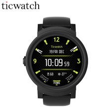 Ticwatch E Expres Смарт-часы Android Wear OS 2,0 WI-FI gps Smartwatch MT2601 Dual Core Bluetooth 4,1 телефон IP67 Водонепроницаемый(China)