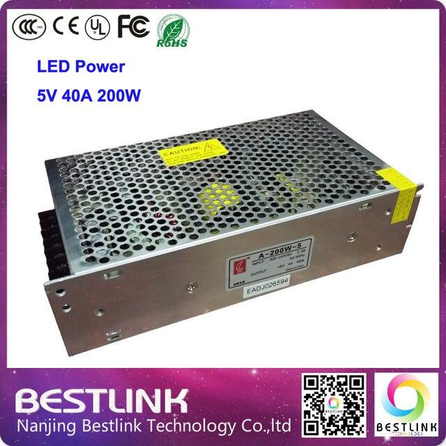 5V40A200W из светодиодов питания CL выключатель питания для rgb из светодиодов экран 110 В / 220 В дор открытый из светодиодов сообщение вывеска из светодиодов рекламный щит
