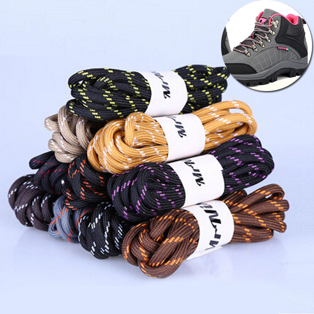 Boot Laces Hiking Walking Safety Round laces  1 PAIR FREE TO YOUR ORDER !