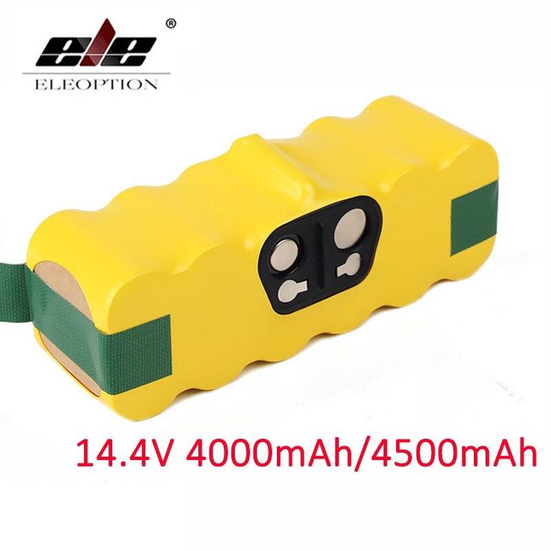 4000 mAh/4500 mAh 14.4 V Batterie Pour aspirateur iRobot Roomba 500 510 530 570 580 600 630 650 700 780 790 Batterie Rechargeable