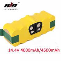 4000 mAh/4500 mAh 14.4V Batterie Pour aspirateur iRobot Roomba 500 510 530 570 580 600 630 650 700 780 790 Batterie Rechargeable