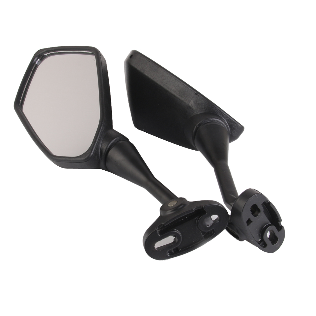 Image 5 - 1 Pair Universal Motorcycle Rearview Handlebar Mount Rear View Mirrors 6.3 x 3.5 Inch Back View Mirror Reduce Blind Spot-in Side Mirrors & Accessories from Automobiles & Motorcycles
